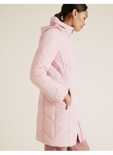 Marks & Spencer Thermowarmth™ Uzun Pufa Mont Pembe
